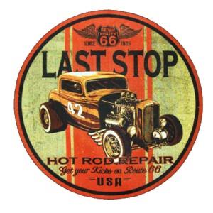 Sweat last stop hot rod