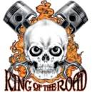 Sweat zippé king of the road