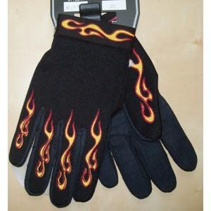 Gants moto flaming Taille 2XL