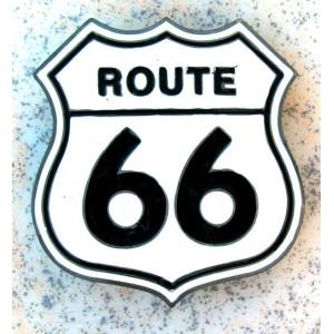 Boucle de ceinture route 66