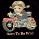T shirt enfant born to be wild boy