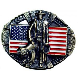 Boucle de  ceinture cowboy