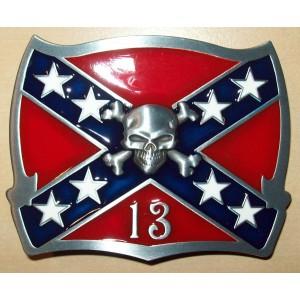 Boucle de ceinture confédéré 13