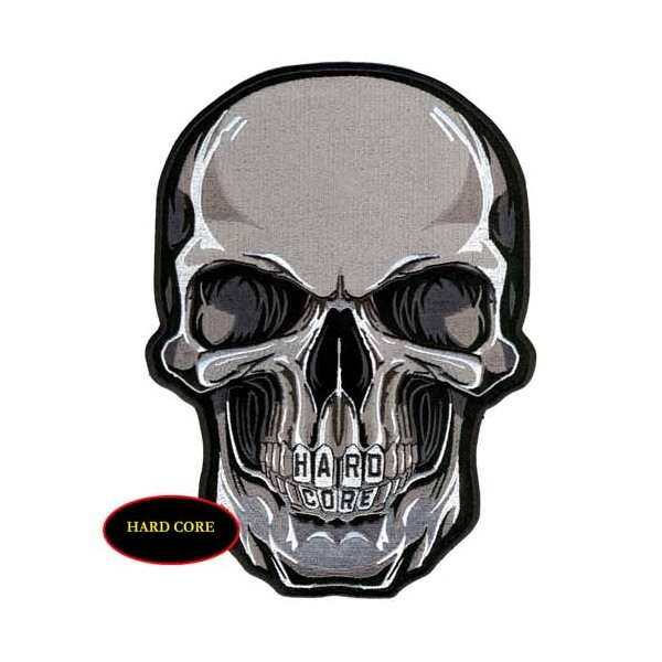 Accessoires de Bikers - Page 2 Patch-skull-face-accessoires-motard