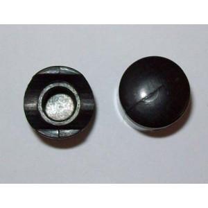 Bouchon de valve piston noir