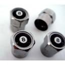 Bouchon de valve grenade noir