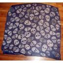 foulard bleu, la muerte