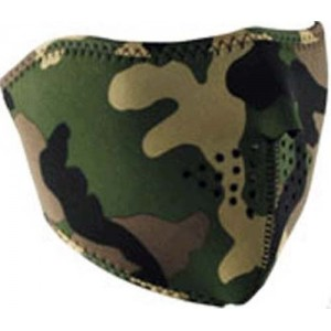 Face masque camouflage