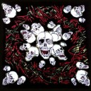 Bandana screaming skull.