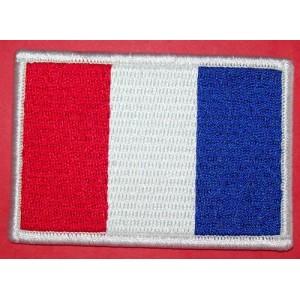 Patch, drapeaux français.