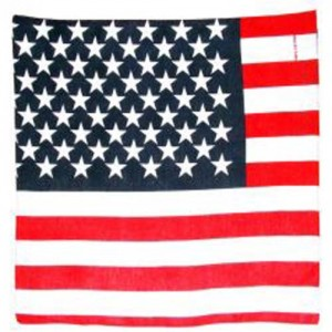 Bandana usa flag.
