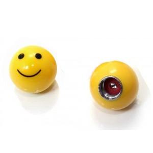 Bouchon de valve smile face