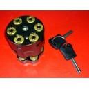 bloque disque grenade chrome
