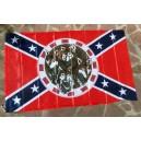 Drapeaux loup confédéré.