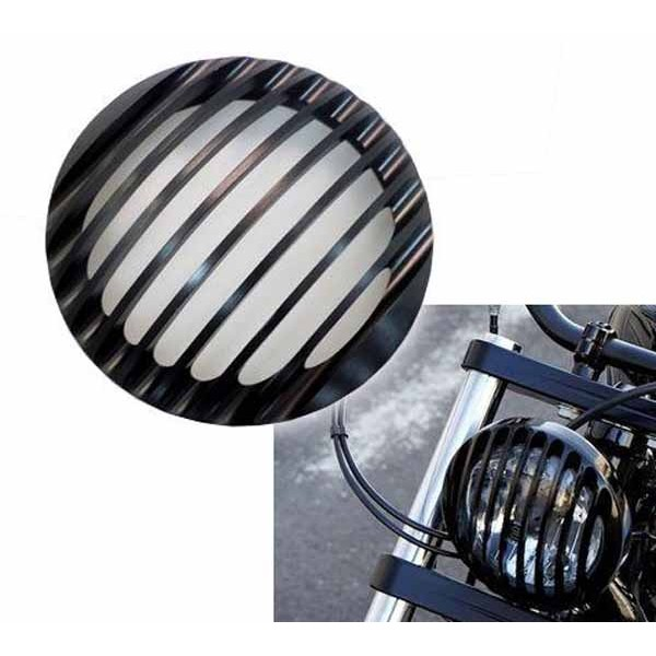 grille de phare pour harley accessoires custom pieces pour harley articles biker. Black Bedroom Furniture Sets. Home Design Ideas