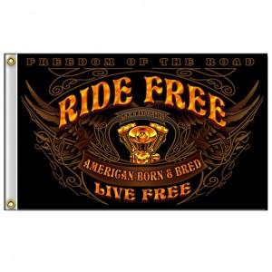 Drapeaux Nostalgia Ride Free.
