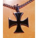 pendantif croix de malte