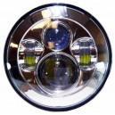 Phare led projecteur daymaker chrome