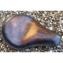 Selle cuir old skool marron