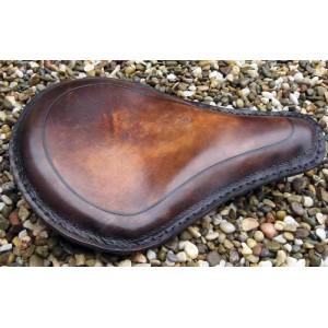 Selle cuir vintage marron