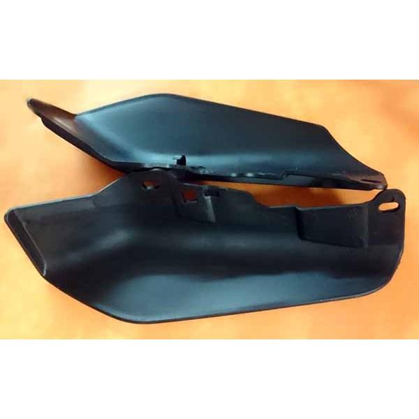 d flecteur d 39 air noir pour harley flh accessoires custom pieces pour harley articles biker. Black Bedroom Furniture Sets. Home Design Ideas