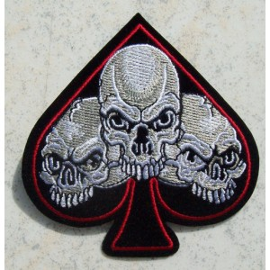 Patch, as de pique skull.
