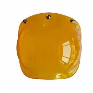 Ecran bulle couleur orange pour casque jet.