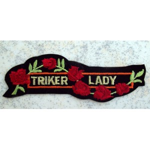 Patch, écusson triker lady.