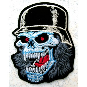 Patch,écusson german skull.