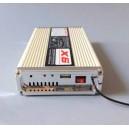 Sirene americaine avec ampli de 400w, télécommande sans fil