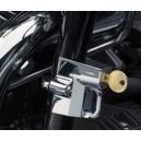 Antivol de casque moto universel pour moto noir ou chromé