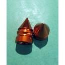 Bouchon de valve cone or