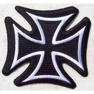 Patch, croix de malte.
