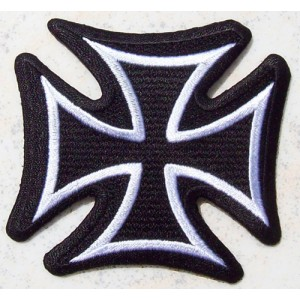 Patch, écusson  croix de malte.