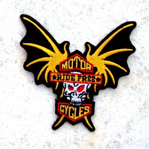 Patch, ride free bat.