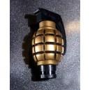 Pommeau de levier de vitesses grenade or