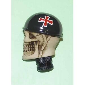 Pommeau de levier de vitesses iron cross helmet