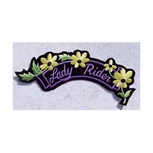 Patch, écusson lady rider.