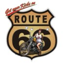 Debardeur route 66 bike