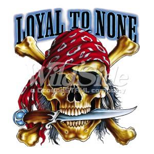 T shirt enfant loyal to none