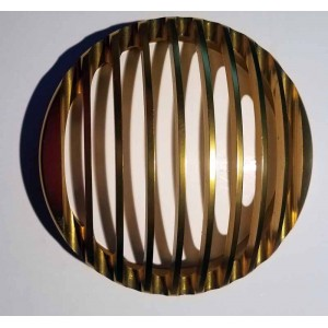 Grille de phare rough crafts or, occasion