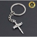 Porte clés croix païenne