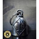 Guardian bell iron cross.