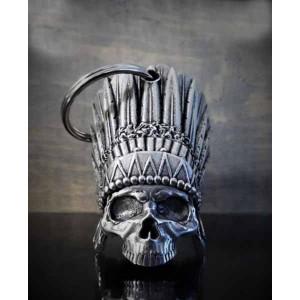 Guardian bell indian skull