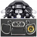 Garnitures pour instrumentations Harley FLH de 2015/2017