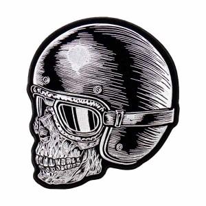 Patch Z Rider Skull Head grand format