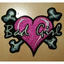 Patch, écusson bad girl small