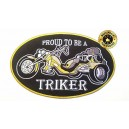 Patch, proud to be a triker. grand model