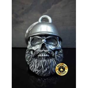 Guardian bell skull biker