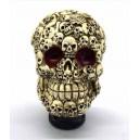 Pommeau de levier de vitesses sugar skull